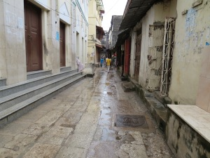 Narrow streets of Stone Town