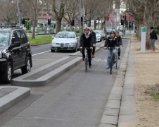 Protected Bike Lanes. Source: www.bicyclenetwork.com.au